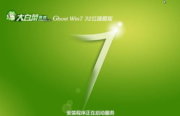 大白菜windows7系统旗舰版32位下载V2019
