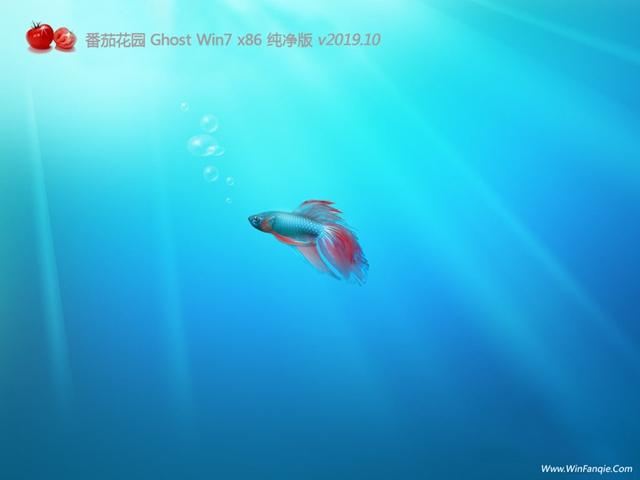番茄花园win7中文版纯净系统32位下载V2020